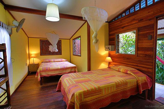 Cabinas Jacaranda Hotel in Puerto Viejo de Talamanca Costa Rica